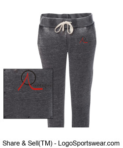 Cropped sweat pants with  small logo Design Zoom