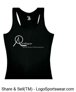 Black Racerback Design Zoom