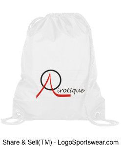Backpack with Airotique logo Design Zoom